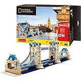 3D Пазл  CubicFun Тауэрский Мост (Великобритания), 120 деталей