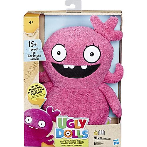Мягкая игрушка Ugly Dolls Мокси 33 см, звук от Hasbro