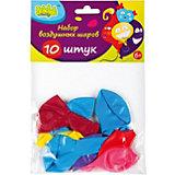 Набор воздушных шаров Bebelot Holiday 25 см, 10 шт