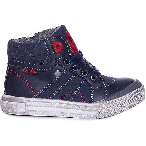 Ботинки Flamingo - синий/красный