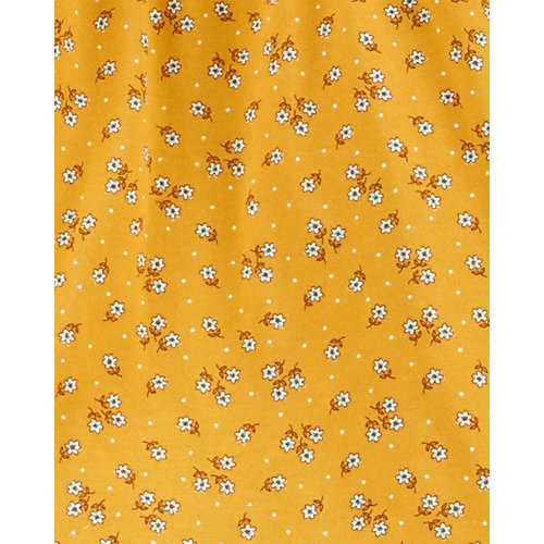 Комплект carter`s: туника и брюки - желтый от carter`s