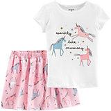 Комплект carter`s: футболка и юбка