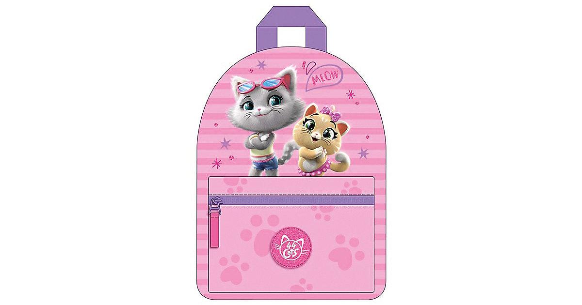 Freizeitrucksack 44 Cats pink