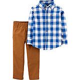 Комплект carter`s: рубашка и брюки