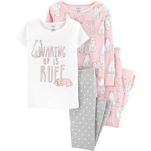 Пижама carter`s, 2 шт. - светло-розовый от carter`s