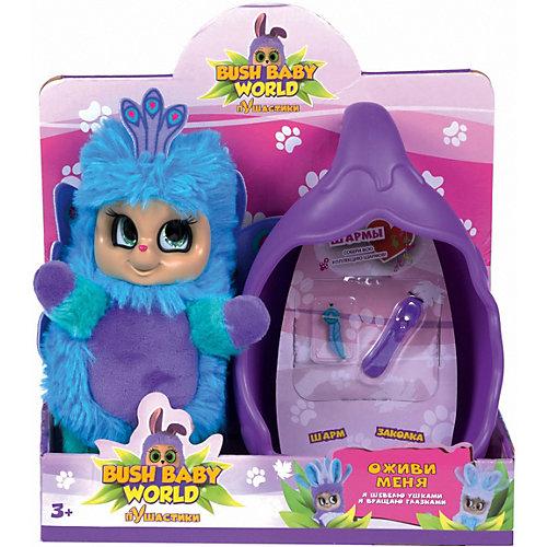 """Интерактивная игрушка Bush baby world """"Павлин Паола"""", 20 см от Bush Baby World"""