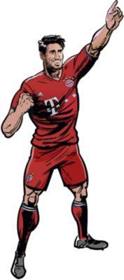 Wandsticker FC Bayern Comic Spieler Joshua Kimmich