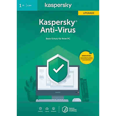 PC Kaspersky Anti-Virus 2020 Upgrade (Code in a box)