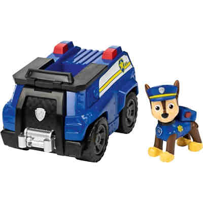 PAW Patrol Polizeiwagen von Chase mit Sammelfigur (Basic Themed Vehicle)
