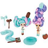 "Набор мини-кукол Spin Master Candylocks ""Сахарная милашка"" Минт и Шоко, 8 см"