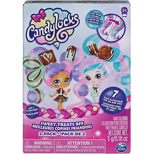 """Набор мини-кукол Spin Master Candylocks """"Сахарная милашка"""" Минт и Шоко, 8 см от Spin Master"""