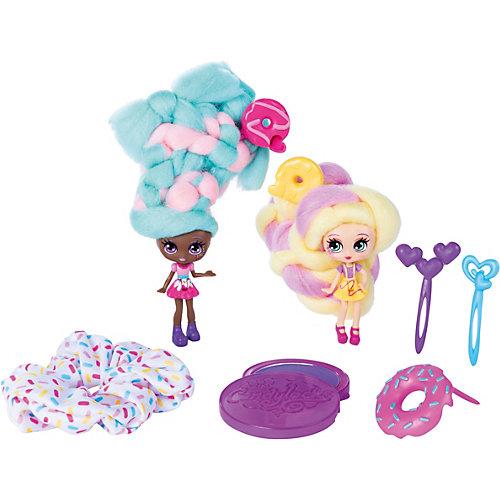 "Набор мини-кукол Spin Master Candylocks ""Сахарная милашка"" Донна и Нат, 8 см от Spin Master"