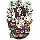 """Пазл Djeco """"Пиратский корабль"""", 36 деталей"""