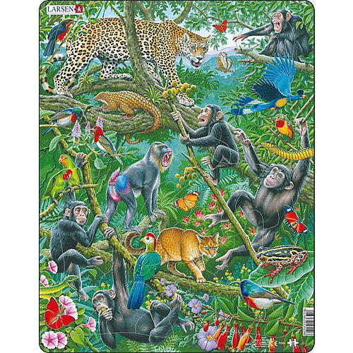 """Пазл Larsen """"Животные Африки"""", 32 детали от Larsen"""