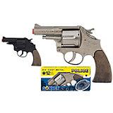Револьвер Gonher Police 12 пистонов, черный
