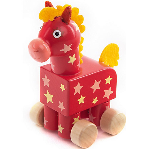 Фигурка деревянная Деревяшки Лошадка Иго-Го от Деревяшки