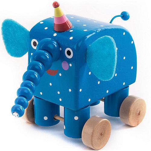 Фигурка деревянная Деревяшки Слон Ду-Ду от Деревяшки