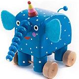 Фигурка деревянная Деревяшки Слон Ду-Ду