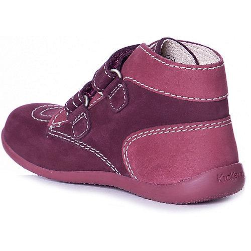 Ботинки KicKers - бордовый от KicKers