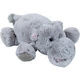 Мягкая игрушка Teddykompaniet Бегемот, 27 см