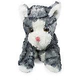 Мягкая игрушка Teddykompaniet Котенок, серо-белый, 23 см