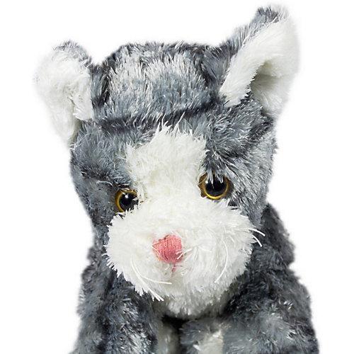 Мягкая игрушка Teddykompaniet Котенок, серо-белый, 23 см от Teddykompaniet