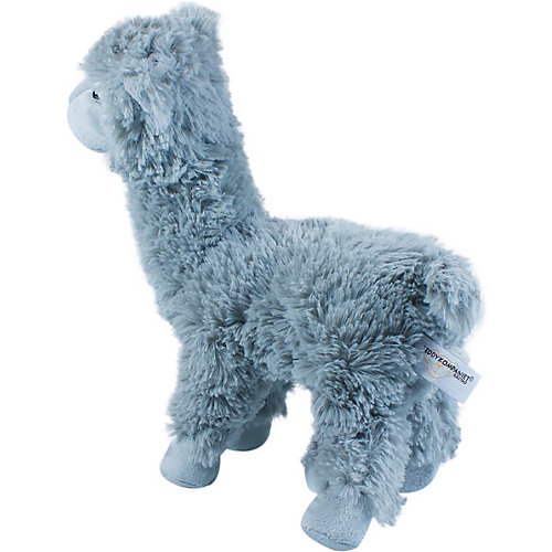 Мягкая игрушка Teddykompaniet Лама, серая, 32 см от Teddykompaniet