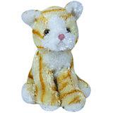 Мягкая игрушка Teddykompaniet Котенок, рыже-белый, 23 см
