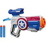 Сборная экипировка-бластер Avengers Nerf Капитан Америка
