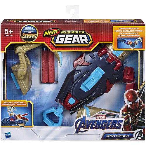 Сборная экипировка-бластер Avengers Nerf Железный паук от Hasbro