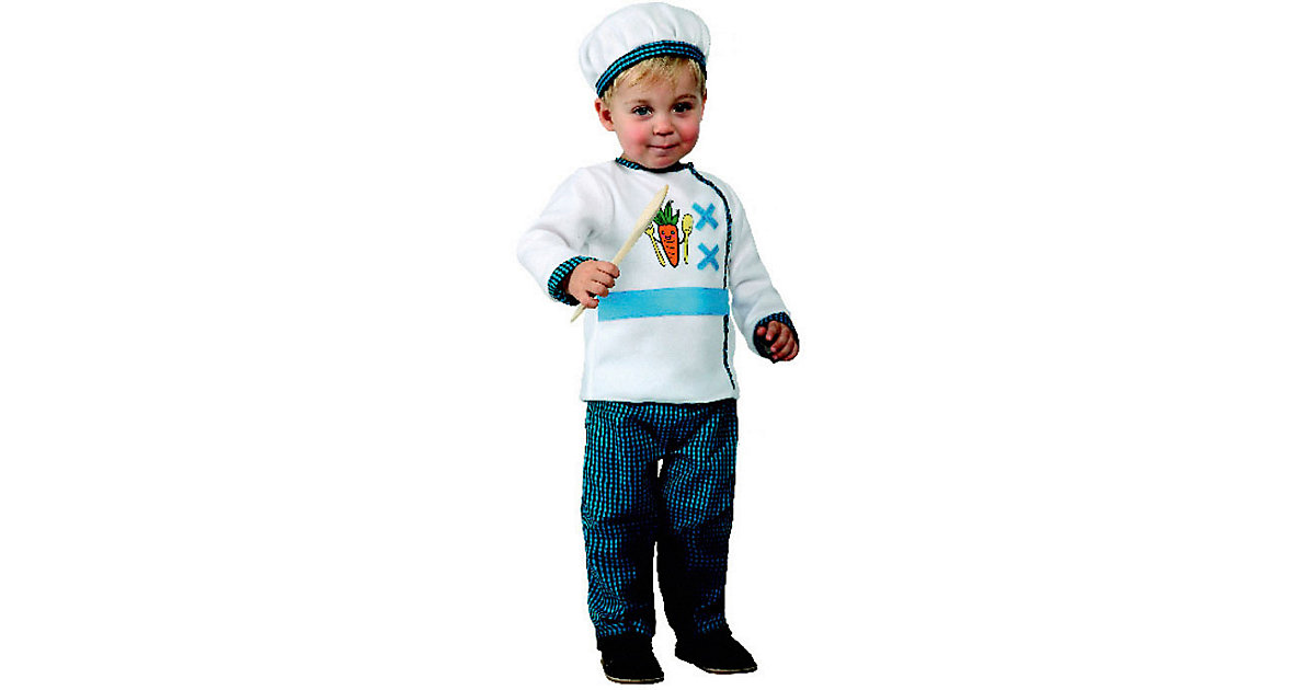 Kostüm Koch weiß-kombi Gr. 68/80 Jungen Baby