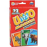 Развивающие карточки Умные игры Уномания животные