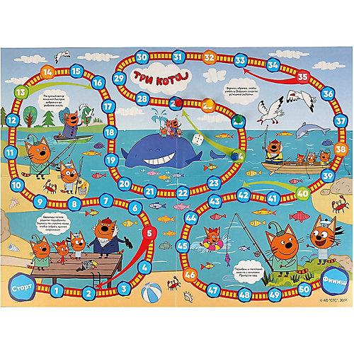 Настольная игра-ходилка Умка Рыбалка, три кота от Умка