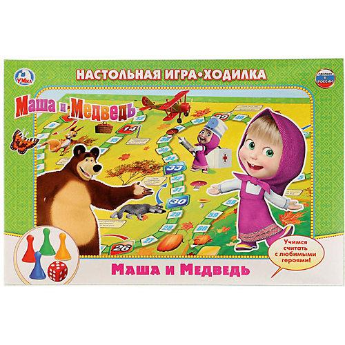 Настольная игра-ходилка Умка Маша и Медведь от Умка