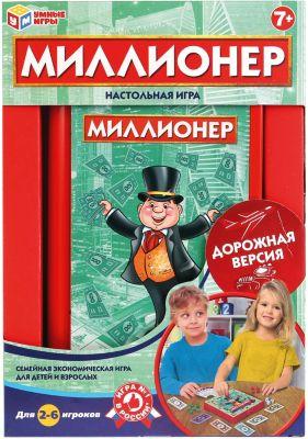 Настольная игра Умные игры Миллионер