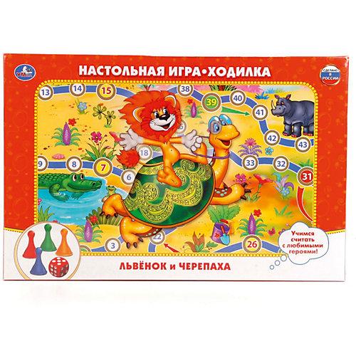 Настольная игра-ходилка Умка Львенок и черепаха от Умка