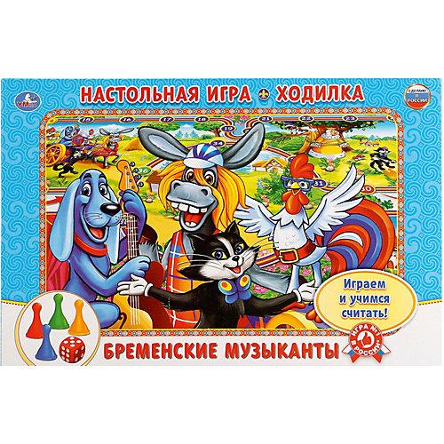 Настольная игра-ходилка Умные игры Бременские музыканты от Умка