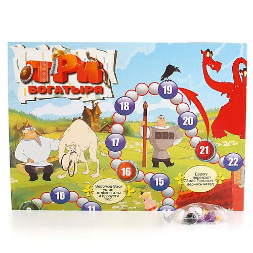 Настольная игра-ходилка Умка Три богатыря от Умка