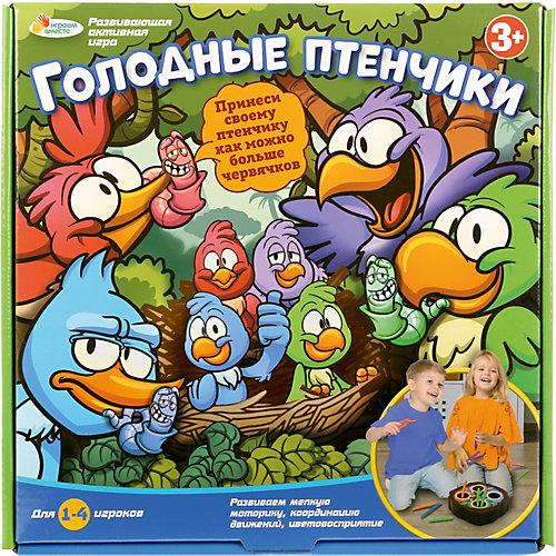 Настольная игра Играем Вместе Голодные птенчики от Играем вместе