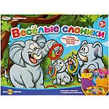 Настольная игра Играем Вместе Веселые слоники