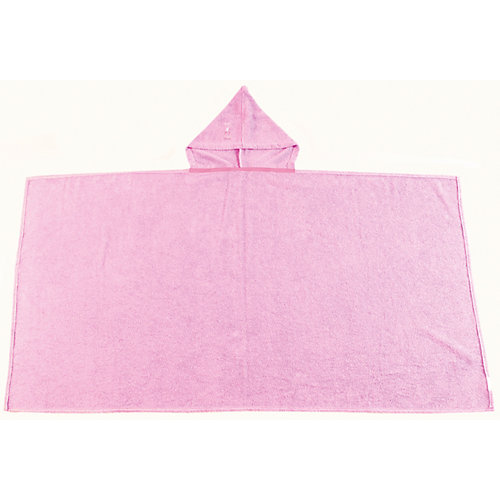 Полотенце с капюшоном BabyBunny, размер М - блекло-розовый от BabyBunny