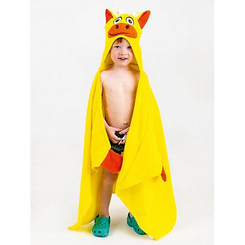 Полотенце с капюшоном BabyBunny - желтый от BabyBunny