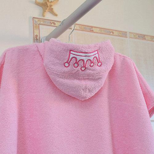 Полотенце с капюшоном BabyBunny, размер L - блекло-розовый от BabyBunny