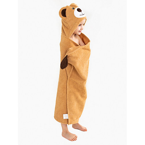 Полотенце с капюшоном BabyBunny - бежевый от BabyBunny