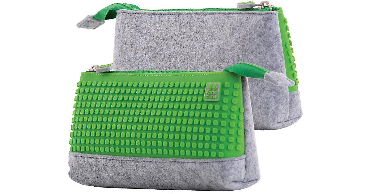 Pixie Crew: Schlampermäppchen, grau/grün