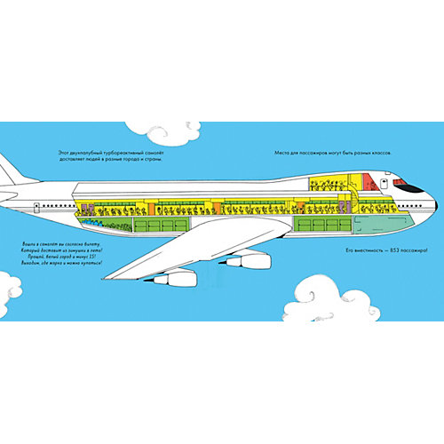 """Книжки-картинки """"Самолеты"""", Гиббонс Г. от Clever"""