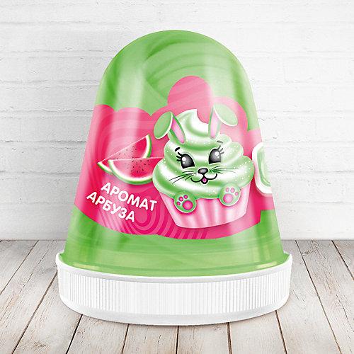 Слайм Monster Slime Fluffy Арбуз тёмно-зелёный, 120 мл от KiKi