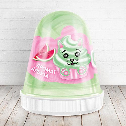 Слайм Monster Slime Fluffy Арбуз светло-зелёный, 120 мл от KiKi