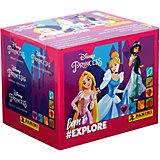 Бокс с наклейками Panini Принцессы Disney Рождена, чтобы исследовать, 36 пакетиков