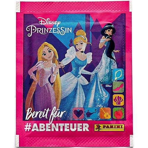 Бокс с наклейками Panini Принцессы Disney Рождена, чтобы исследовать, 36 пакетиков от Panini